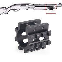 "Gauge 1"" Shotgun Mag Tube Tri Rail Picatinny Mount  Laser Flashlight 5 Angles US"