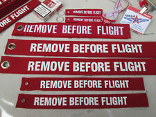 2 x   XXL Version REMOVE BEVORE FLIGHT Avion Aircraft  Nato WW2 RAF YakAir