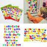 78x Buchstaben oder Zahlen  ABCabc Magnet Buchstaben Set Alphabet Kinder  . F9E0