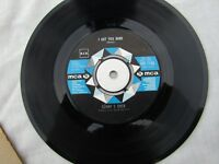 SONNY &  CHER I GOT YOU BABE / ALL I EVER NEED IS YOU mca 1145.... '60's 45 rpm