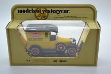 Matchbox Models of Yesteryear Diecast Vans