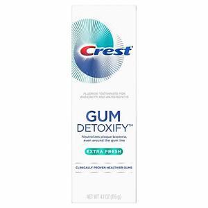 Crest Gum Detoxify Extra Fresh Toothpaste 4.1oz (116 g) *EXP 08/2021* USA Import