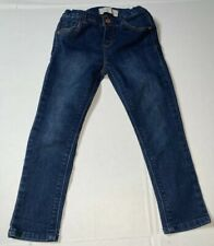 Preowned- Zara Baby Button Front Adj Jeans Girls (Size 3-4 Years)