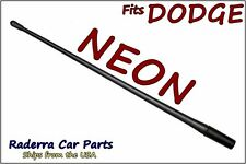 "FITS: 1995-1998 Dodge Neon - 13"" SHORT Custom Flexible Rubber Antenna Mast"