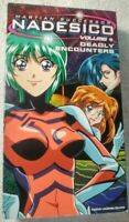 Martian Successor Nadesico - Vol. 4: Deadly Encounters (VHS, 2000, Dubbed) #T24