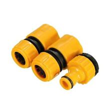 3Pc/set  Garden Water Hose Pipe Tap Connector Connection Fitting Adapter 2018