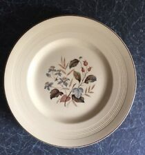 Woods Ware Jasmine 4 x Plates Yellow Floral & Blue Flower Rarer & Retro £24.99