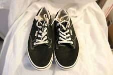 Women's VANS Off The Wall Shoes  Black Canvas size 8- Lightly worn