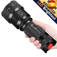 Linterna LED Alta Potencia Militar T6 de Enfoque Ajustable Impermeable de