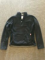 North Face Women's S Black Osito Fleece Quarter 1/4 Zip Sweater