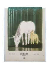 Harry Potter Wizarding World Art Unicorn Poster Print 11x17