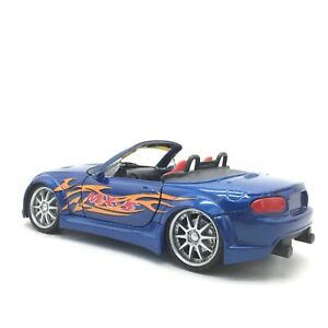 Newray Mazda MX-5 Diecast Car Model 1:24 Collection Toy Gift