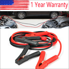Booster Cables 0 Gauge Jumper Leads 20FT Long Heavy Duty Car Van Clamps Start