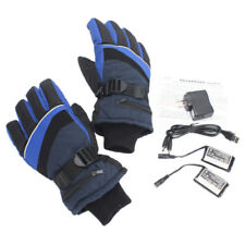 Heated Gloves 2 Rechargeable Battery for Thermal Winter Electric Fishing Skiing