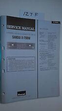 Sansui d-70bw service manual original repair book stereo tape deck player