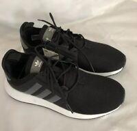Adidas US 6Y Originals X_PLR J CG6825 Black White Running Sneaker Shoes New