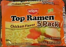 25 Packs/Order OUTSTANDING Nissin Top Ramen Chicken Flavor Noodle Soup 3 Oz/Pack