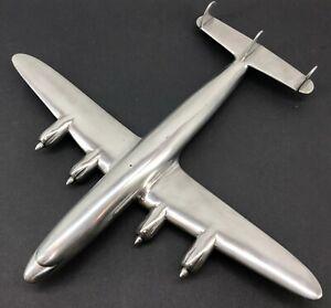 Lockheed Constellation Airplane Travel Agency Model Deco Metal Raise Up Verkuyl
