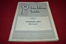 International Harvester Hydrostatic Drive 656 Tractor Shop Manual Yabe13