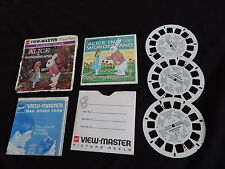 VIEWMASTER REEL SET OLD GAF ALICE IN WONDERLAND  free shipping