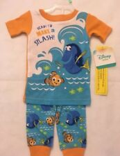 FINDING DORY NEMO Toddler  Boys Snug Fit Pajamas Size 18 Months