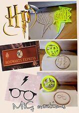 Harry Potter 3pcs Cookie Cutter solennemente Mischief 9 3/4 Cupcake topperfondant