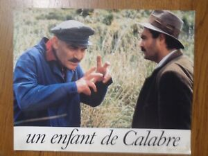 Poster Promotional Film Un Child Of Calabria