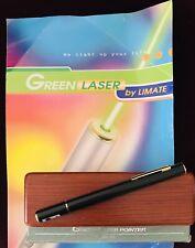 Ultra Strong Green Laser Pointer Pen By Límate Vintage 1999!