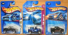 Hot Wheels Hummer H3T x3, 2004 First Editions, Concept Team Surf's Up, 2005 #168