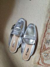 Ladies Size 8 Primark Silver Shoe
