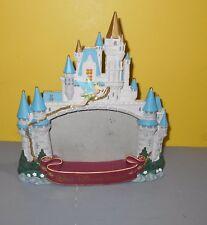 Walt Disney World Parks Resorts Magic Kingdom Castle Picture Frame w/Tinker Bell