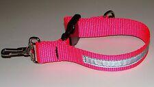 Sav-A-Jake Firefighter Glove Strap - Hot Pink w/3M Silver Reflective