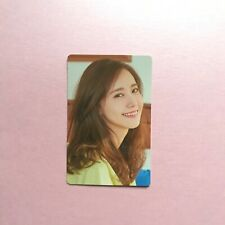 YOONA OFFICAL PANTONE ZIPNOTE PHOTOCARD RARE SNSD Girls' Generation Oh-GG!