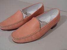 Gabriele by G Beni Ladies Pink Rose Leather Sole Shoes EU 35 UK 2.5 Italian