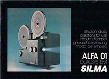 SILMA ALFA 01 DUAL SYSTEM-Service Manual Istruzioni b1765
