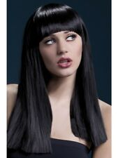 Black Fever Alexia Wig, 19inch/48cm Adult Womens Smiffys Fancy Dress Costume