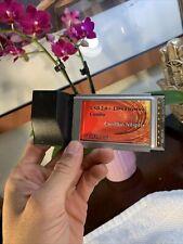 32 Bit Pc Card 1394 FireWire Combo Usb 2.0 CardBus Adapter Rare