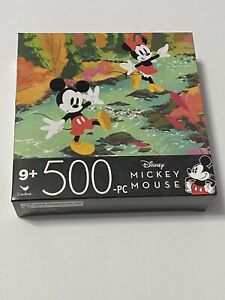 New Disney Mickey & Minnie Mouse 500 Piece Jigsaw Puzzle Cardinal 11x14