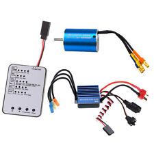 Motor sin escobillas Sensorless 2838 4500KV +35A ESC para RC Coche Bricolaje 1/12 1/14 1/16