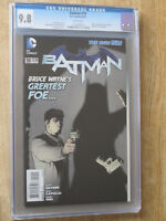 BATMAN #  19  US DC 2013     CGC 2nd highest graded copy! CGC 9.8  MINT