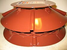Brewer U. F. O. Cowl Ultimate flue outlet anti-downdraught (terracotta painted)