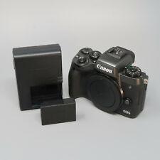 Canon EOS M5 24.2MP Digital Camera - Black (Body Only)