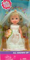 LFoK ALL GROWN UP Lil' Bride KELLY Doll 56620 Barbie KELLY Club 2002 Mattel NRFB