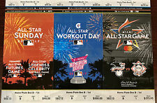 2017 MLB All Star Game - Full Strip of Ticket Stubs