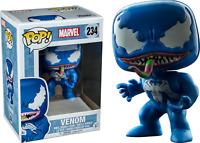 Marvel Venom #234 Blue Exclusive Funko Pop Vinyl Figure Vaulted Damaged Box