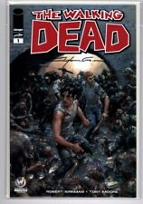 Walking Dead #1  Wizard World Minneapolis Variant Signed by Clayton Crain