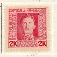 Austria Army Post 1915 Early Issue Fine Mint Hinged 2K. 087533