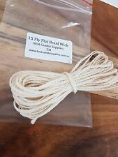 15ply Candle Wick - 5M