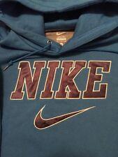 Nike Men's Hoodie XL Blue 100% Cotton Solid NWOT