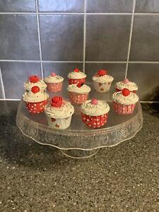 FAKE CAKES ARTIFICIAL CUPCAKES DISPLAY FAKE FOOD PROP KITCHEN DECORATION